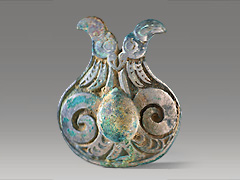 image Plaque in the form of Two Birds